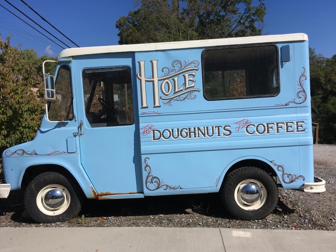 HOLE NC doughnuts bus
