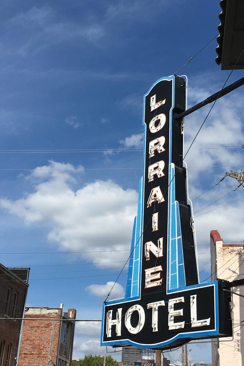 Lorraine Hotel Memphis TN