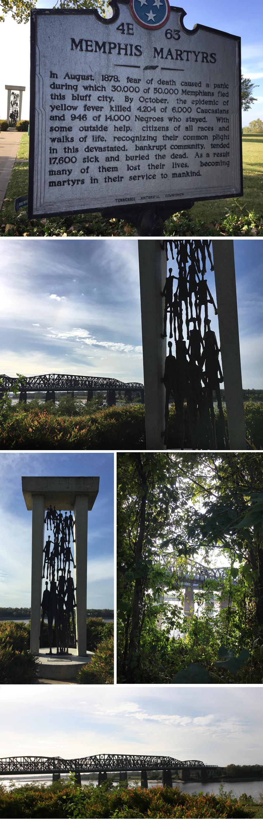 Memphis martyrs park
