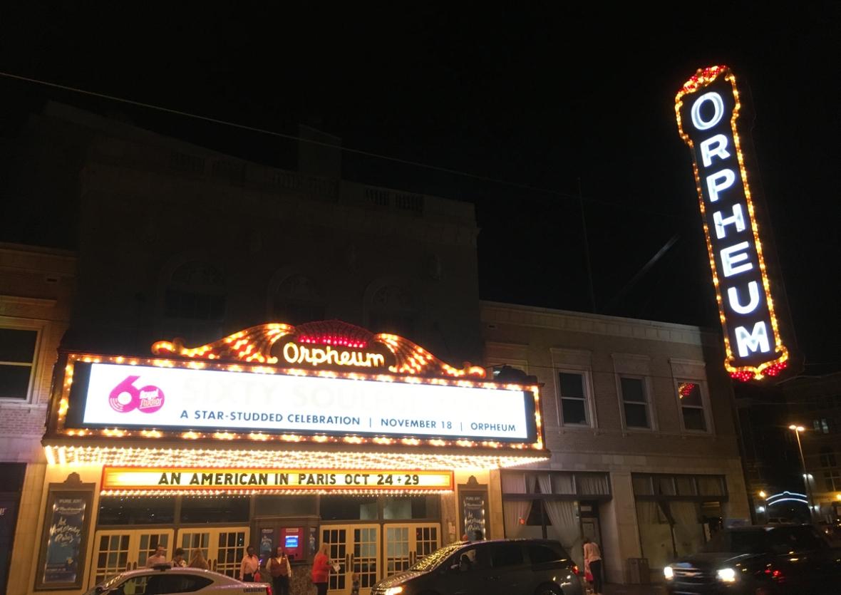 Orpheum theater Memphis